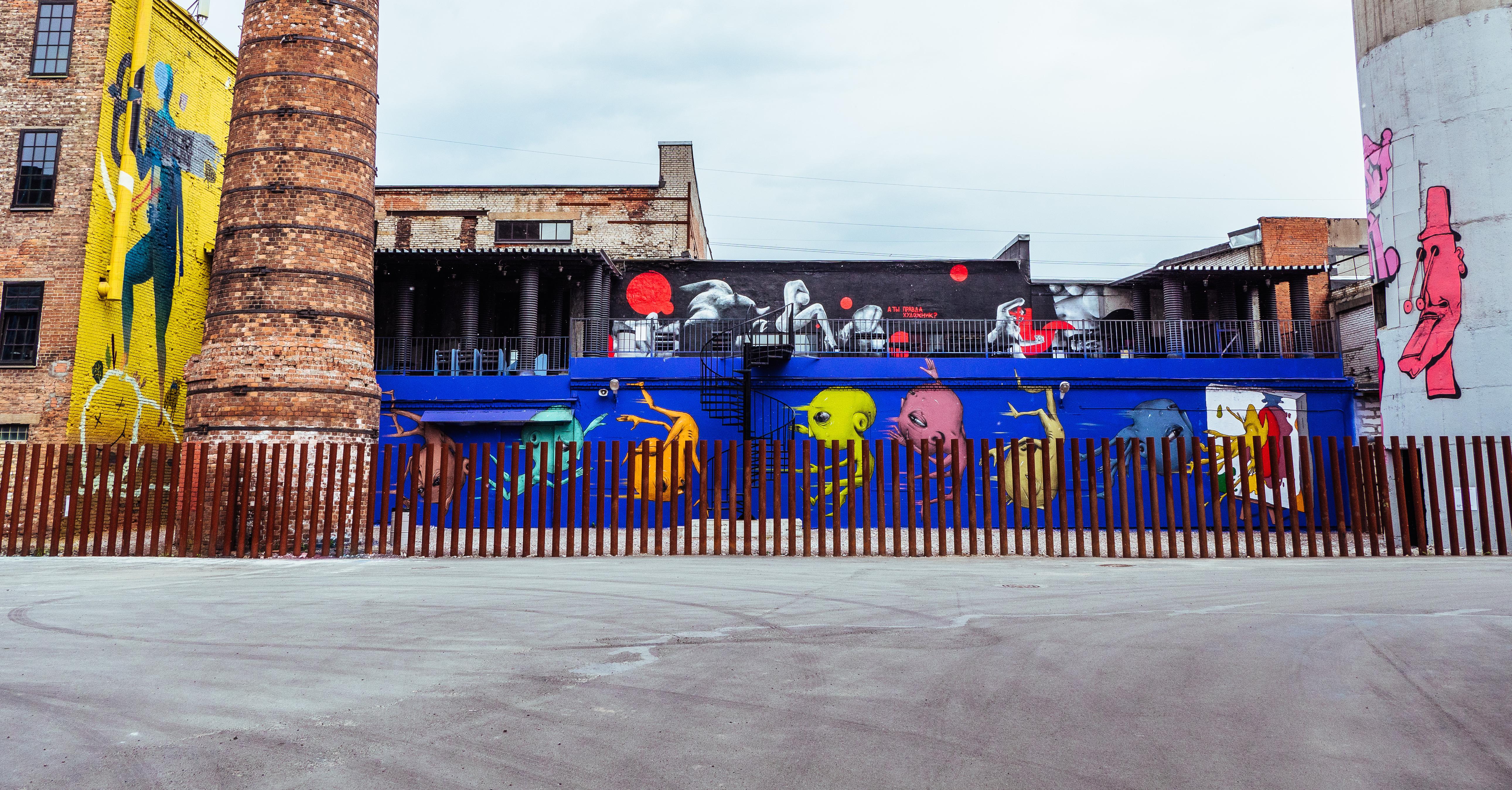 Бесплатные часы посещения в Музее стрит-арта